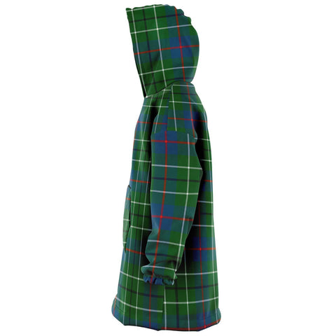 Duncan Ancient Snug Hoodie - Unisex Tartan Plaid Left