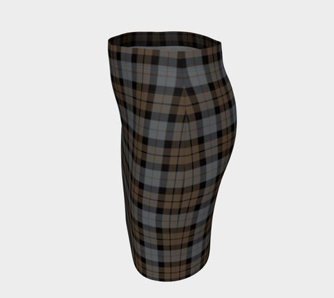 Tartan Fitted Skirt - MacKay Weathered | Special Custom Design