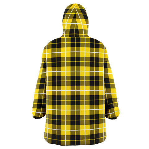 Barclay Dress Modern Snug Hoodie - Unisex Tartan Plaid Back