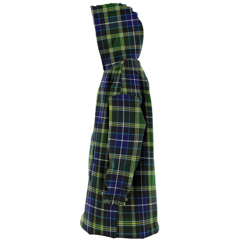 Image of MacKellar Snug Hoodie - Unisex Tartan Plaid Left