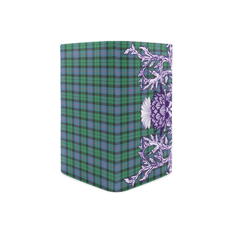 Morrison Ancient Tartan Wallet Women's Leather Thistle A91
