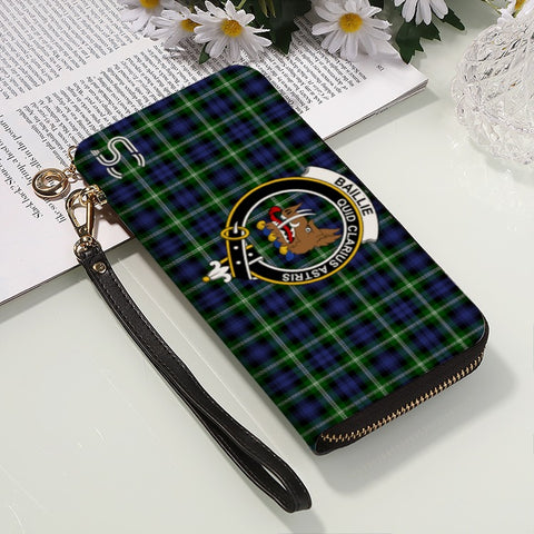 Image of Baillie Modern Crest Tartan Zipper Wallet™