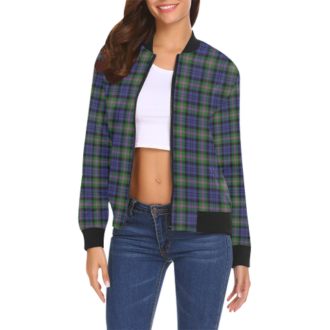 Image of Baird Modern Tartan Bomber Jacket | Scottish Jacket | Scotland Clothing