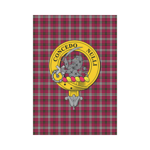 Little (New) Tartan Flag Clan Badge | Scottishclans.co