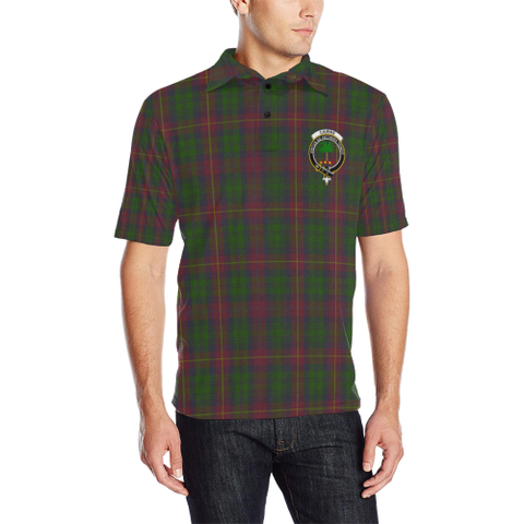 Cairns Tartan Clan Badge Polo Shirt