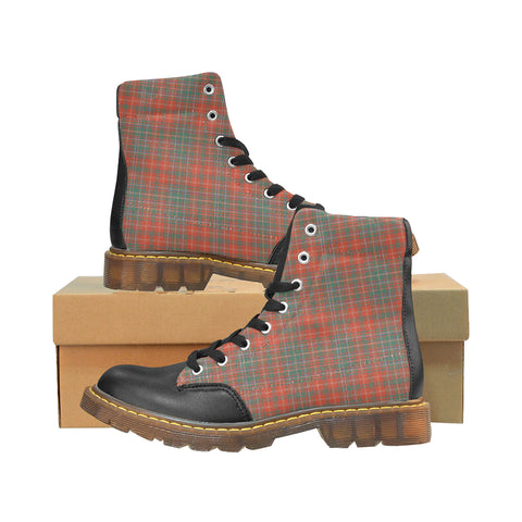 Image of MacDougall Ancient Tartan Apache Boots | Tartan Footwear | Over 500 Tartans & 300 Clans