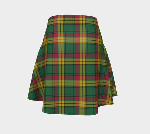 Image of Tartan Flared Skirt - MacMillan Old Ancient A9