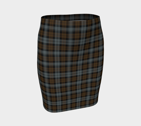 Tartan Fitted Skirt - BlackWatch Weathered | Special Custom Design