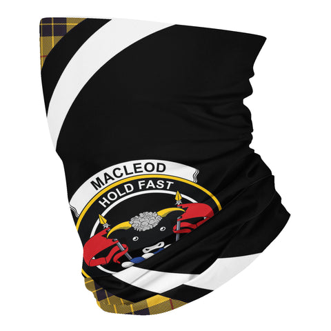 Image of MacLeod of Lewis Ancient Tartan Neck Gaiter Circle HJ4 (USA Shipping Line)