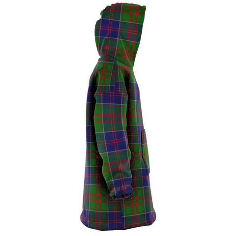 Stewart of Appin Hunting Modern Snug Hoodie - Unisex Tartan Plaid Right