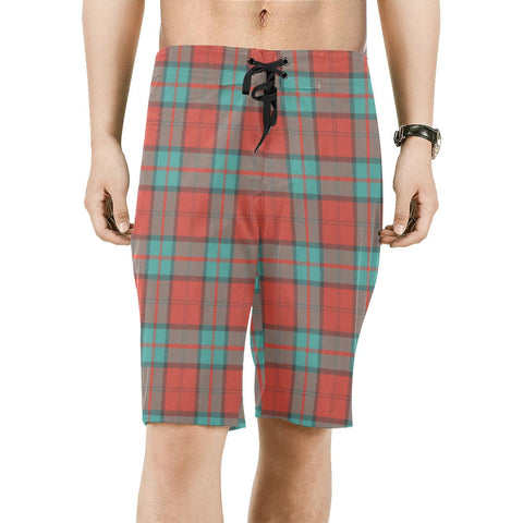 Dunbar Ancient Tartan Board Shorts | scottishclans.co