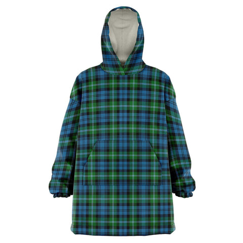 Image of Lyon Clan Snug Hoodie - Unisex Tartan Plaid Front