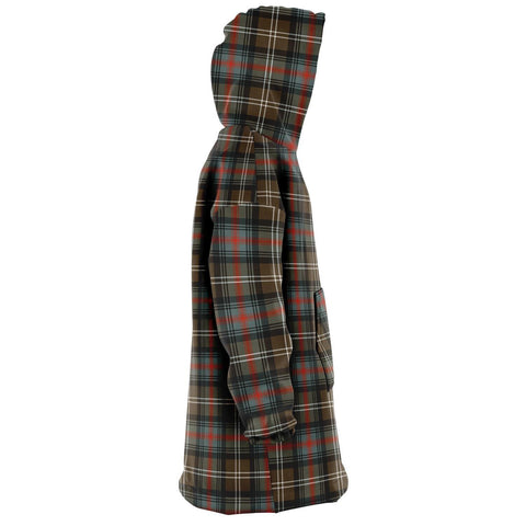 Sutherland Weathered Snug Hoodie - Unisex Tartan Plaid Right