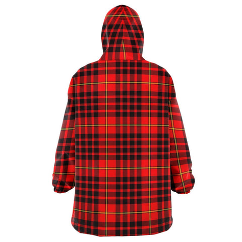 Image of MacIan Snug Hoodie - Unisex Tartan Plaid Back