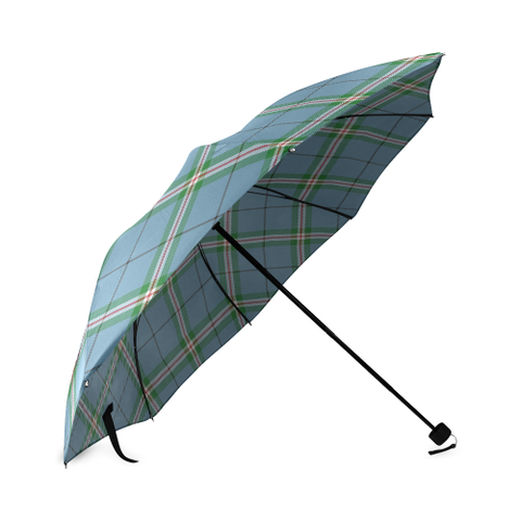 Clelland Modern Crest Tartan Umbrella TH8