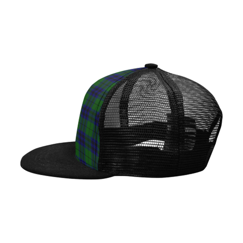 Image of Keith Modern Tartan Trucker Hat All Over