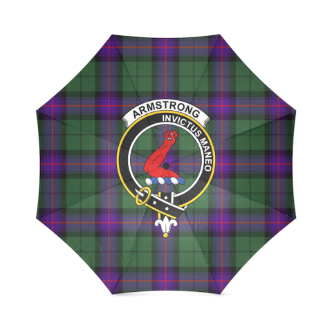 Image of Armstrong Modern Crest Tartan Umbrella TH8