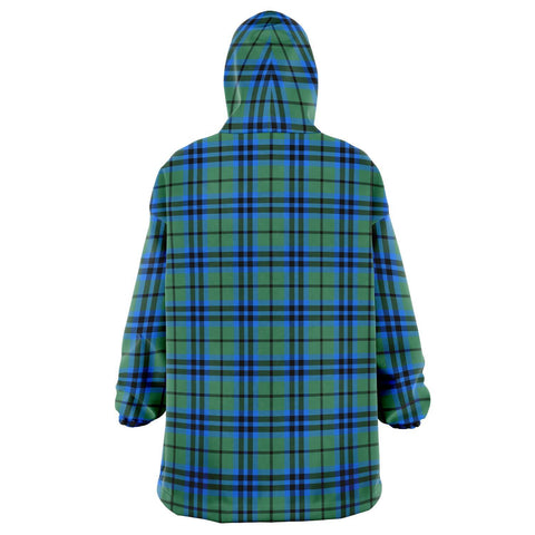 Falconer Snug Hoodie - Unisex Tartan Plaid Back