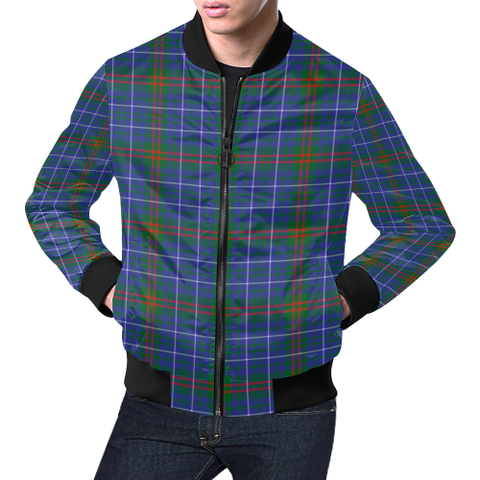Edmonstone Tartan Bomber Jacket | Scottish Jacket | Scotland Clothing