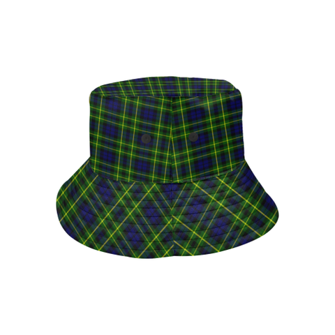 Image of Campbell Of Breadalbane Modern Tartan Bucket Hat for Women and Men