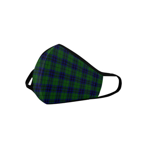 Keith Modern Tartan Mouth Mask With Filter | scottishclans.co