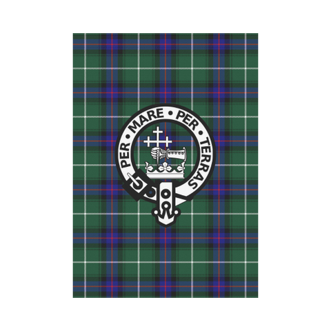 Macdonald Of The Isles Tartan Flag Clan Badge K7