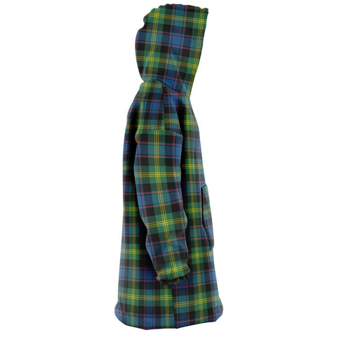 Watson Ancient Snug Hoodie - Unisex Tartan Plaid Right