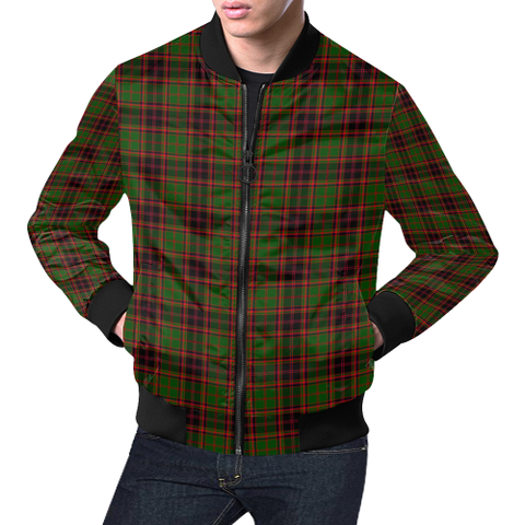 Buchan Modern Tartan Bomber Jacket | Scottish Jacket | Scotland Clothing
