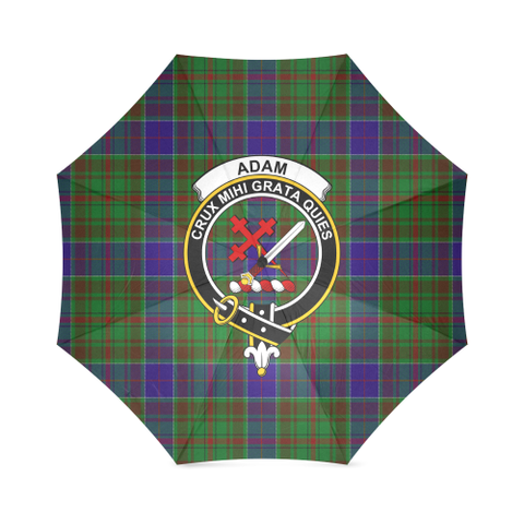 Image of Adam Crest Tartan Umbrella TH8