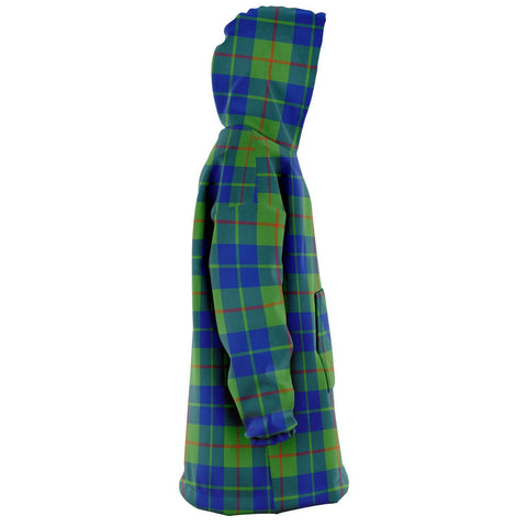 Image of Barclay Hunting Ancient Snug Hoodie - Unisex Tartan Plaid Right