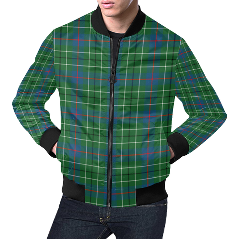 Image of Duncan Ancient Tartan Bomber Jacket | Scottish Jacket | Scotland Clothing