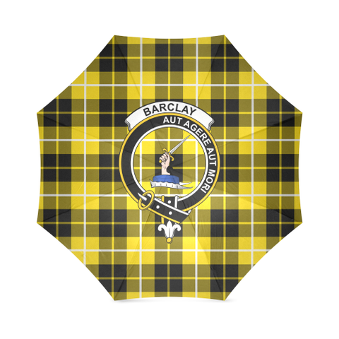 Barclay Dress Modern Crest Tartan Umbrella TH8