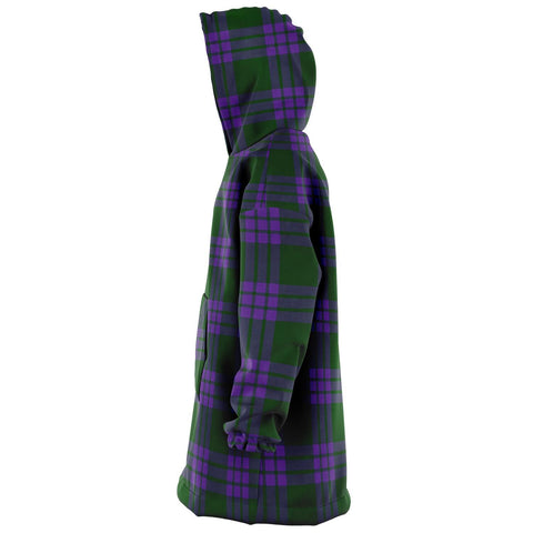 Image of Elphinstone Snug Hoodie - Unisex Tartan Plaid Left