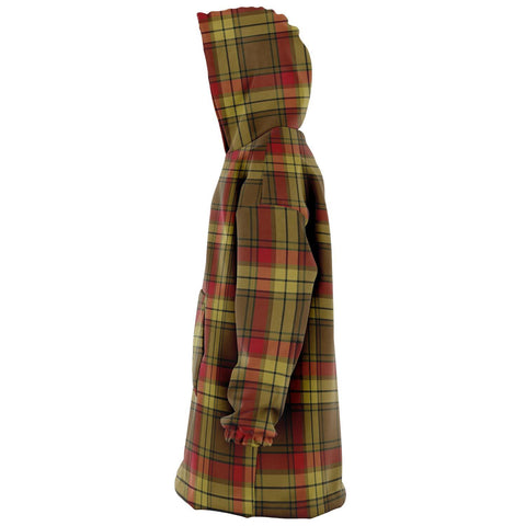 Image of MacMillan Old Weathered Snug Hoodie - Unisex Tartan Plaid Left
