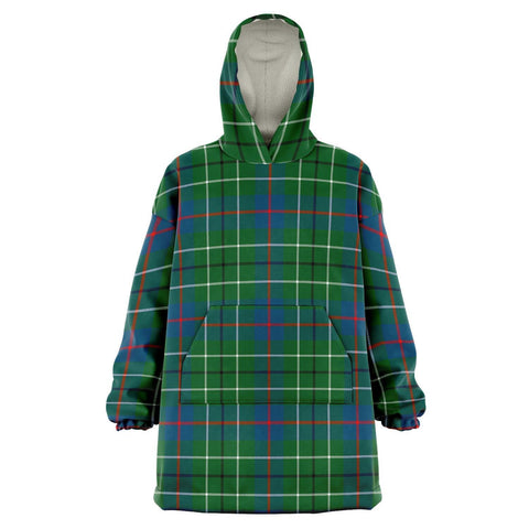 Image of Duncan Ancient Snug Hoodie - Unisex Tartan Plaid Front
