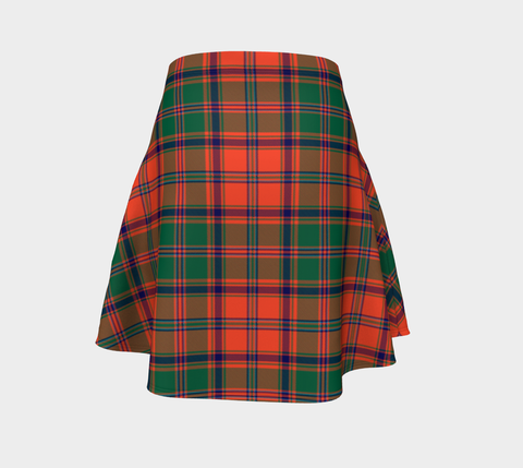 Tartan Flared Skirt - Stewart of Appin Ancient |Over 500 Tartans | Special Custom Design | Love Scotland