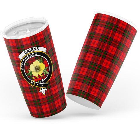 Cairns Tartan Tumbler, Scottish Cairns Plaid Insulated Tumbler - BN