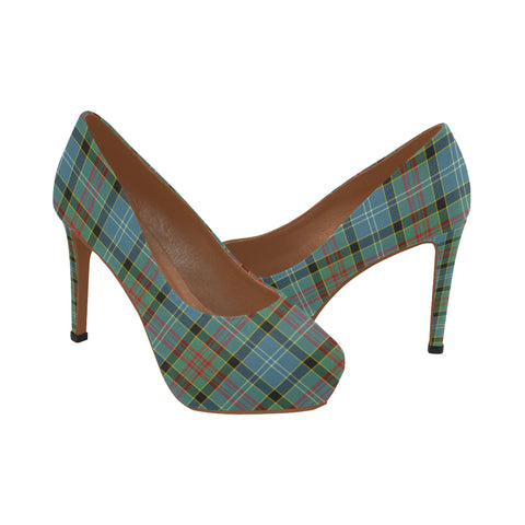 Paisley District Tartan Heels HJ4