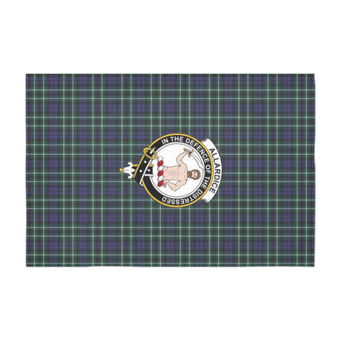 Image of Allardice Crest Tartan Tablecloth | Home Decor