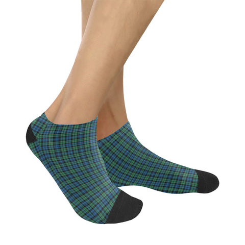 Campbell Ancient 02 Tartan Ankle Socks K7