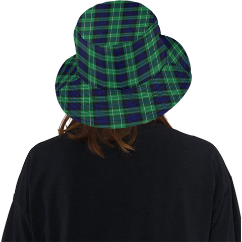 Abercrombie Tartan Bucket Hat for Women and Men K7