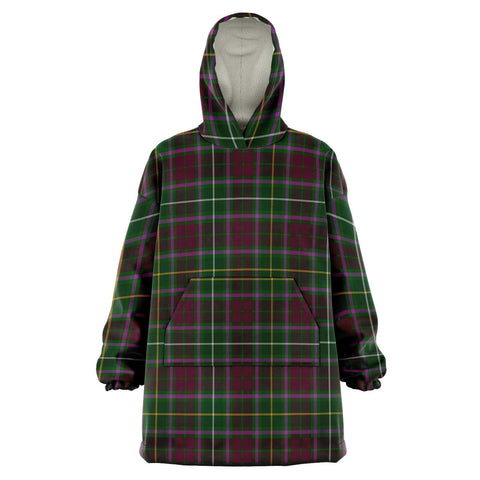Image of Crosbie Snug Hoodie - Unisex Tartan Plaid Front