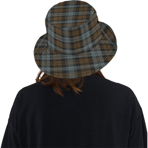Blackwatch Weathered Tartan Bucket Hat for Women and Men K7