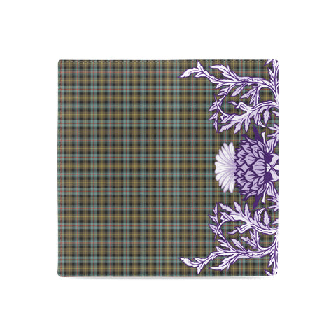 Image of Farquharson Weathered Tartan Wallet Women's Leather Wallet A91 | Over 500 Tartan