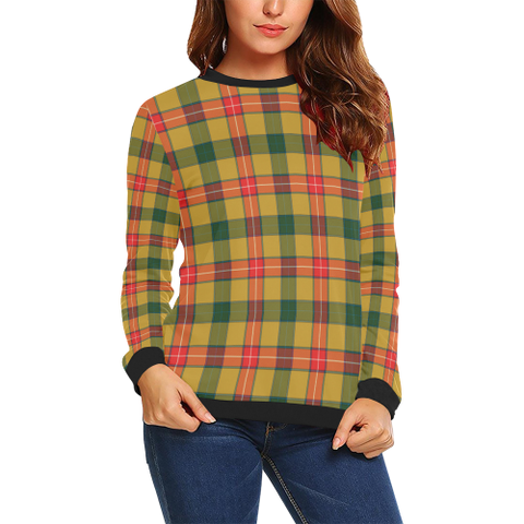 Image of Baxter Tartan Crewneck Sweatshirt TH8