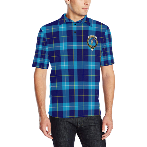 Mckerrell Tartan Clan Badge Polo Shirt