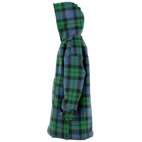 Morrison Ancient Snug Hoodie - Unisex Tartan Plaid Left