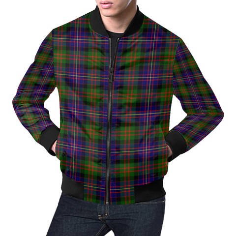 Cameron of Erracht Modern Tartan Bomber Jacket | Scottish Jacket | Scotland Clothing