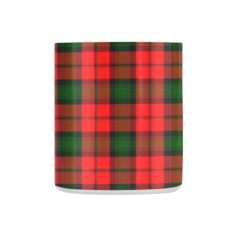 Image of Kerr Modern Tartan Mug Classic Insulated - Clan Badge K7