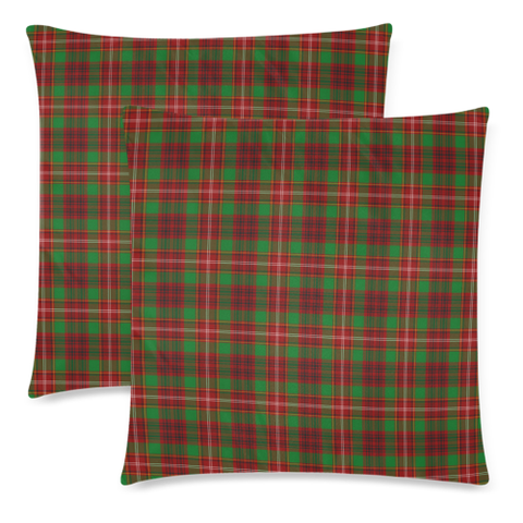 Image of Ainslie decorative pillow covers, Ainslie tartan cushion covers, Ainslie plaid pillow covers